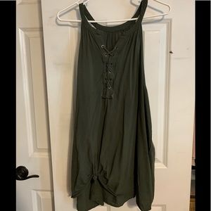 green torrid tank top